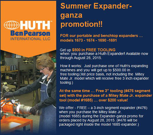 Huth Expander Promotion