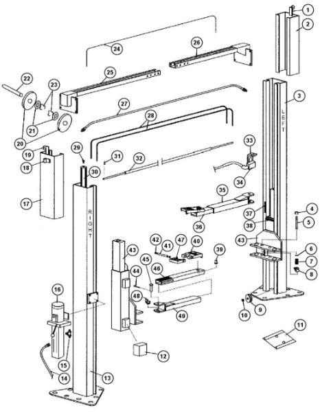 parts breakdown for rotary model spo9 svi international model parts breakdown rotary spo9